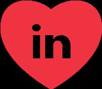 Heart LinkedIn