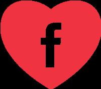 Heart Facebook